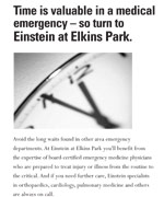 Einstein Emergency